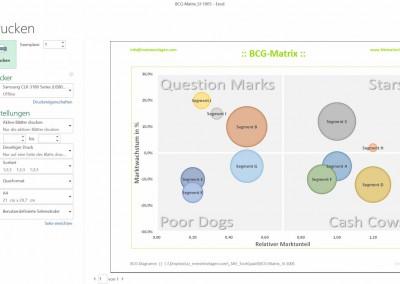 Excel BCG-Matrix