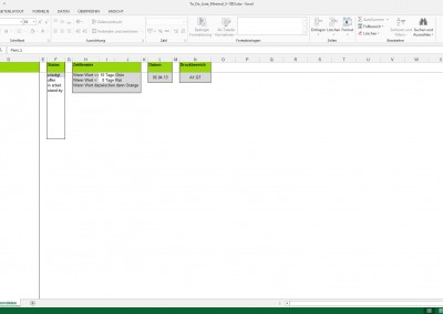 Excel To Do Liste Minimal - Stammdaten